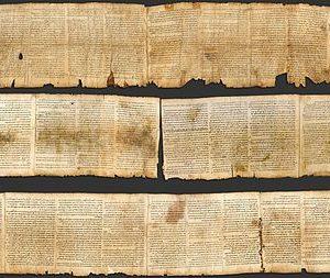 Biblical scroll Isaiah - SRIA Bishop Wilkins College