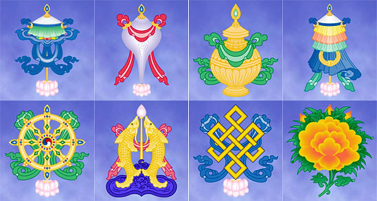 Bishop Wilkins SRIA College Buddhist Symbols