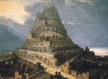 Bishop Wilkins SRIA Tower of Babel